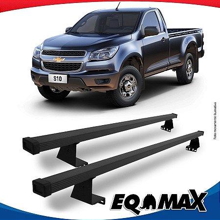 Rack Eqmax para Caçamba Chevrolet S10 Cabine Simples 12/... Aço