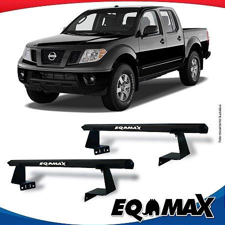 Rack Eqmax para Caçamba Nissan Frontier 08/15 Aluminio Preto