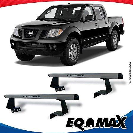 Rack Eqmax para Caçamba Nissan Frontier 08/15 Aluminio Prata