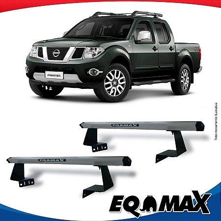 Rack Eqmax para Caçamba Nissan Frontier 16/... Aluminio Prata
