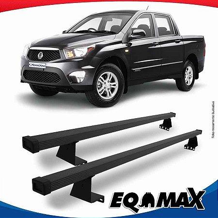 Rack Eqmax para Caçamba Ssangyong Actyon Sport Aço