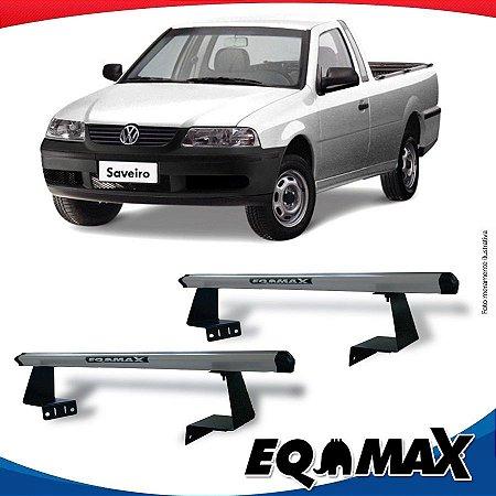 Rack Eqmax para Caçamba Volkswagen Saveiro G3 99/05 Aluminio Prata