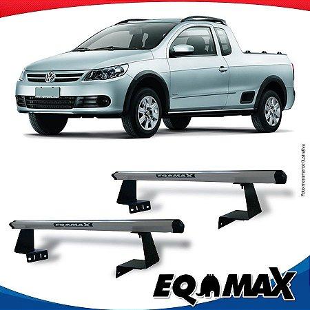 Rack Eqmax para Caçamba Volkswagen Saveiro G5 08/13 Aluminio Prata