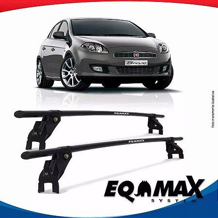 Rack Aço Teto Eqmax Fiat Bravo 12/15 4 Portas