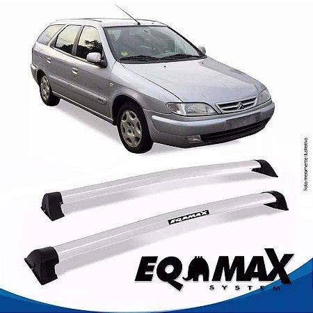 Rack Teto Eqmax Xsara Break 98/03 Bagageiro Wave Prata