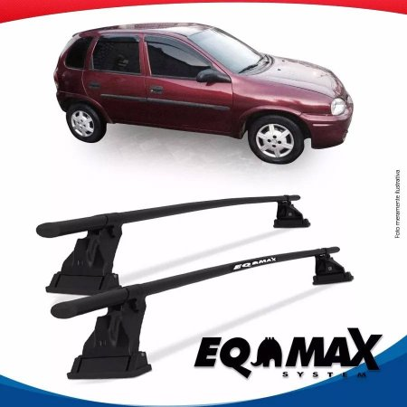 Rack Aço Teto Eqmax Chevrolet Corsa Wind 4 Pts 94/15