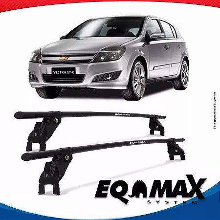 Rack Aço Teto Eqmax Chevrolet Vectra GT 08/11 Fixação Porta