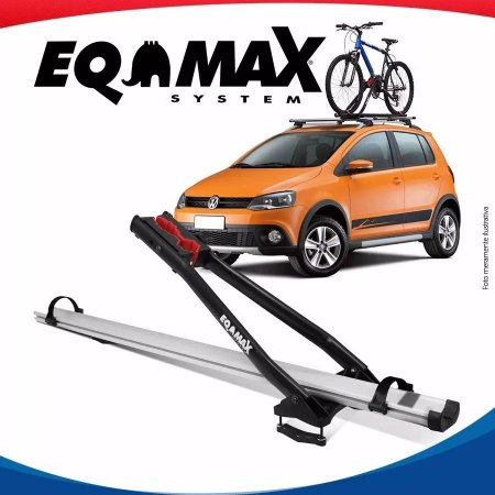 Suporte Bike Transbike Eqmax Velox Aluminio Prata