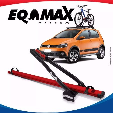 Suporte Bike Transbike Eqmax Velox Aluminio Vermelho