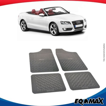 Tapete Borracha Eqmax Audi Cabriolet