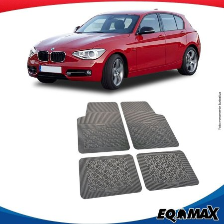 Tapete Borracha Eqmax BMW Serie 1