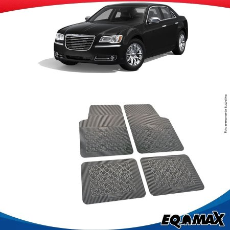Tapete Borracha Eqmax Chrysler 300M