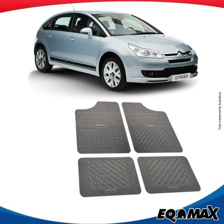 Tapete Borracha Eqmax Citroen C4 Hatch