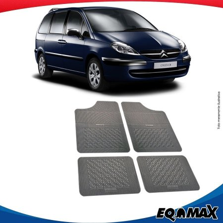 Tapete Borracha Eqmax Citroen C8