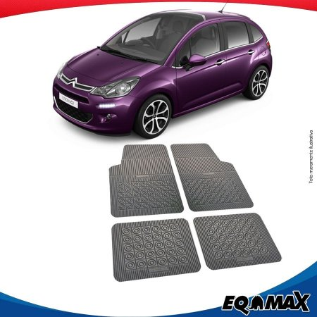 Tapete Borracha Eqmax Citroen C3