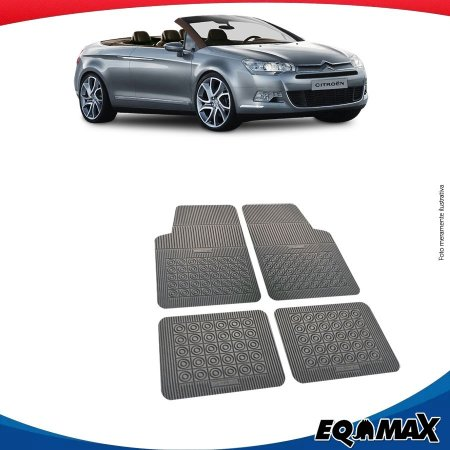 Tapete Borracha Eqmax Citroen C5 Conversivel