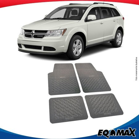 Tapete Borracha Eqmax Dodge Journey