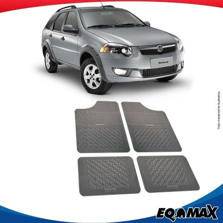 Tapete Borracha Eqmax Fiat Palio Weekend