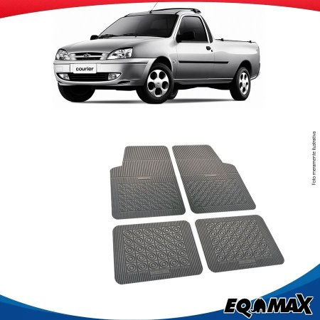 Tapete Borracha Eqmax Ford Courier