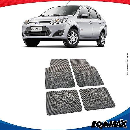 Tapete Borracha Eqmax Ford Fiesta Rocan Sedan