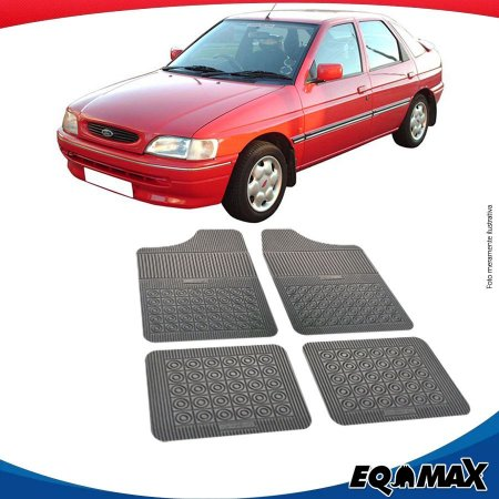 Tapete Borracha Eqmax Ford Escort