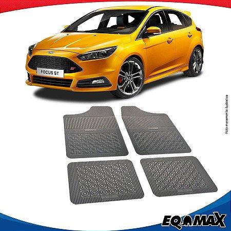 Tapete Borracha Eqmax Ford Focus Hatch 14/17