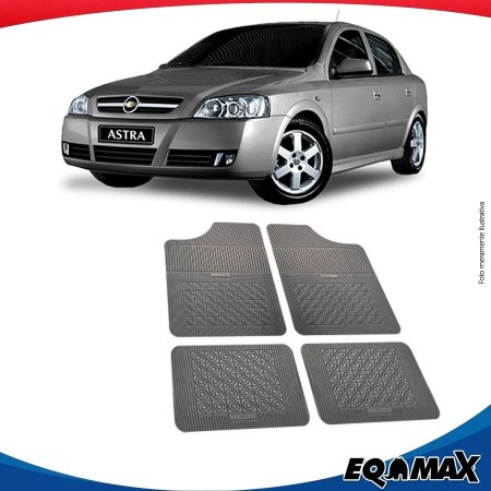 Tapete Borracha Eqmax Chevrolet Novo Astra Hatch