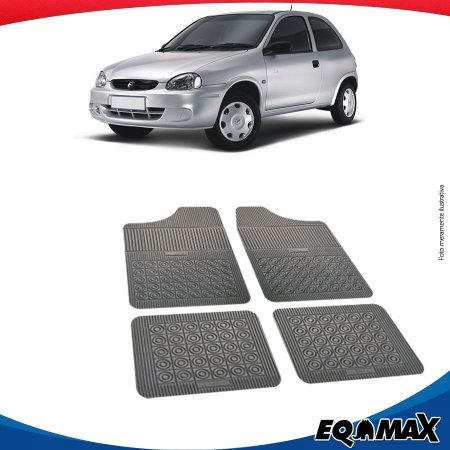 Tapete Borracha Eqmax Chevrolet Corsa Hatch