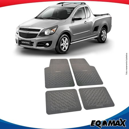 Tapete Borracha Eqmax Chevrolet Montana