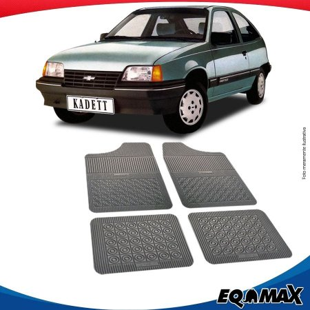 Tapete Borracha Eqmax Chevrolet Kadett