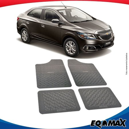 Tapete Borracha Eqmax Chevrolet Prisma