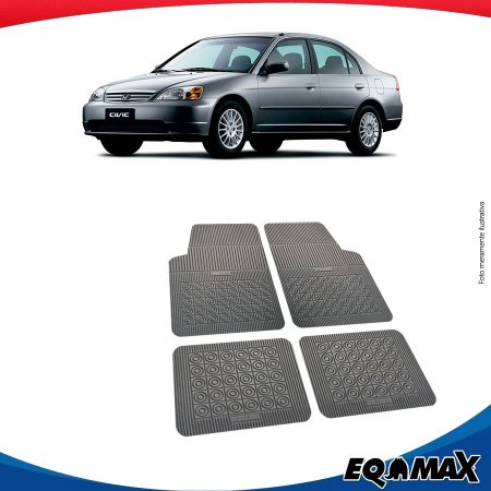 Tapete Borracha Eqmax Honda Civic