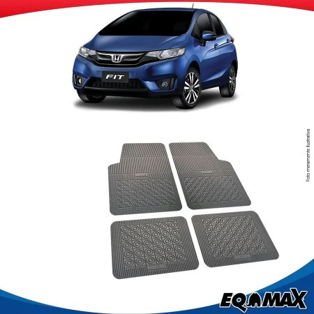 Tapete Borracha Eqmax Honda New Fit