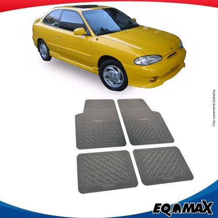 Tapete Borracha Eqmax Hyundai Accent