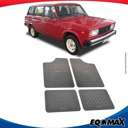 Tapete Borracha Eqmax Lada Laika Wagon
