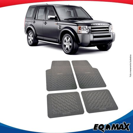 Tapete Borracha Eqmax Land Rover Discovery 3