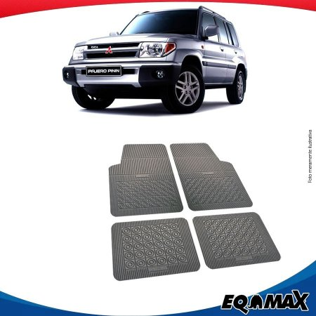 Tapete Borracha Eqmax Mitsubishi Pajero TR4 Pinin