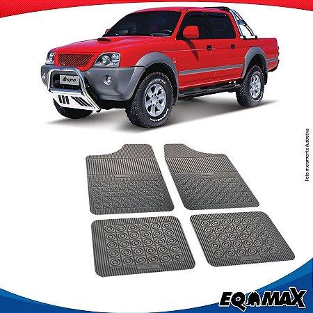 Tapete Borracha Eqmax Mitsubishi L200 Sport