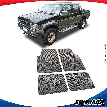 Tapete Borracha Eqmax Nissan D21 Cabine Dupla