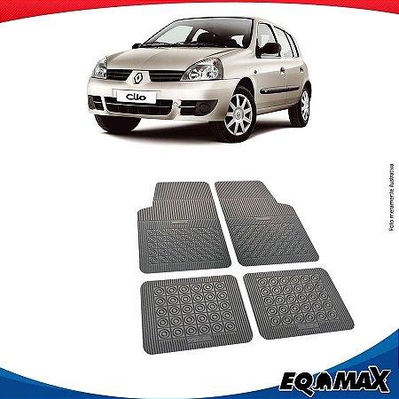Tapete Borracha Eqmax Renault Clio Hatch