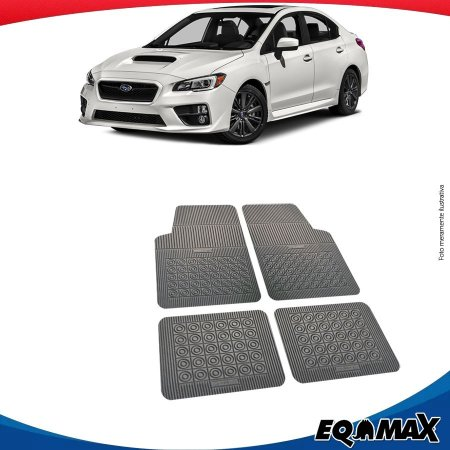 Tapete Borracha Eqmax Subaru Novo Impreza Sedan