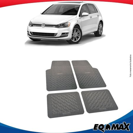Tapete Borracha Eqmax Volkswagen Novo Golf