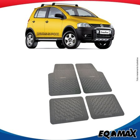 Tapete Borracha Eqmax Volkswagen Cross Fox