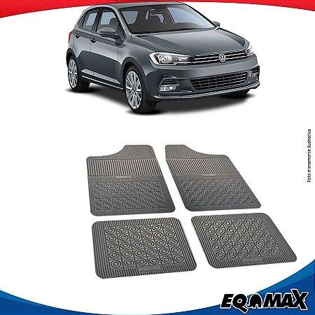 Tapete Borracha Eqmax Volkswagen novo Gol