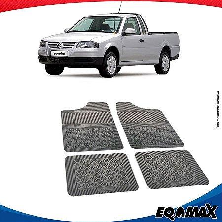 Tapete Borracha Eqmax Volkswagen Saveiro G4