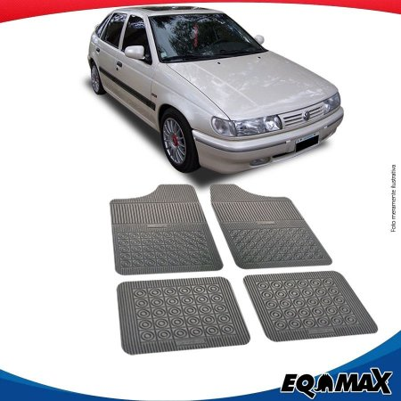 Tapete Borracha Eqmax Volkswagen Pointer