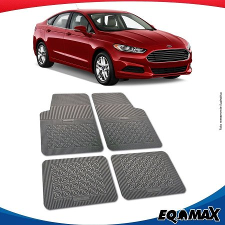 Tapete Borracha Eqmax Novo Ford Fusion