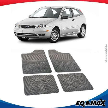 Tapete Borracha Eqmax Ford Focus Hatch 00/08