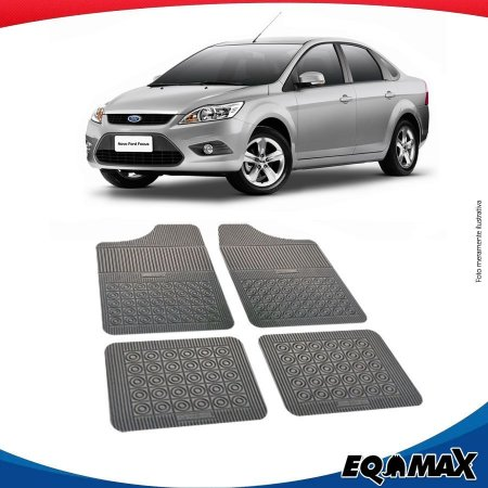 Tapete Borracha Eqmax Ford Focus Sedan 09/13