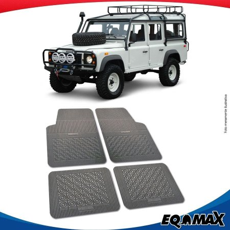 Tapete Borracha Eqmax Land Rover Defender